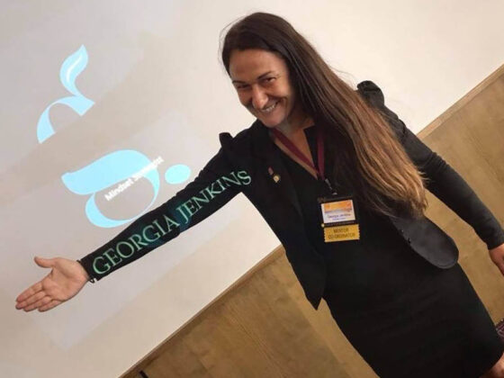 motivational speaker Georgia Jenkins